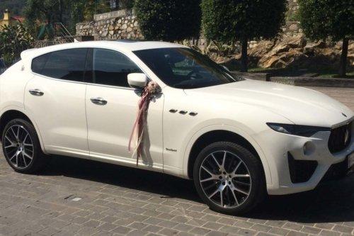 Maserati Levante noleggio con conducente per matrimoni