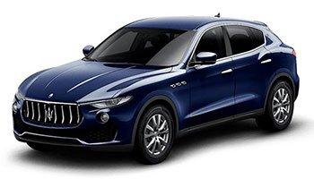 Noleggio con conducente Maserati Levante
