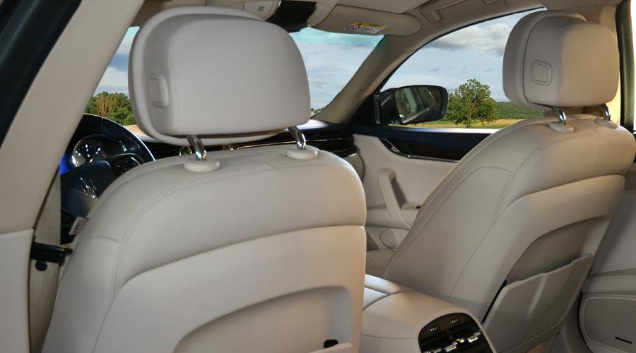 Maserati Quattroporte a noleggio con conducente